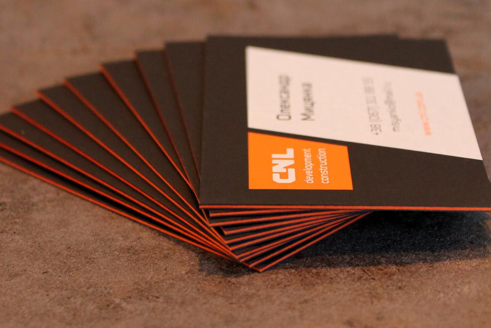 визитки кашированные