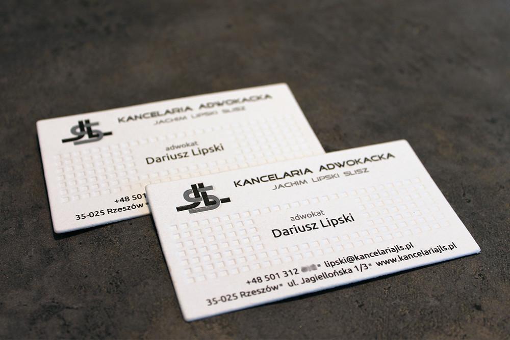 Letterpress на всю визитку